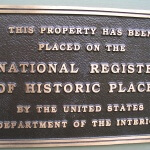 Historic Registry Plaque