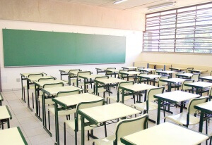 A school classroom in Texas