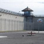 A prison yard