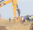 Protestors at the North Dakota Pipeline