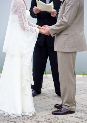 Join the Universal Life Church to become a wedding minister