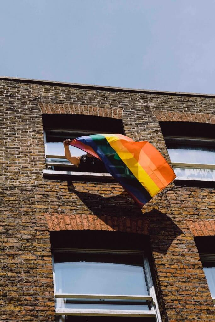 An Iowa man was given a 16-year prison sentence for stealing and setting fire to an LGBT pride banner, but the facts of the case explain the harsh sentence.