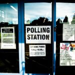 A Texas Polling Station