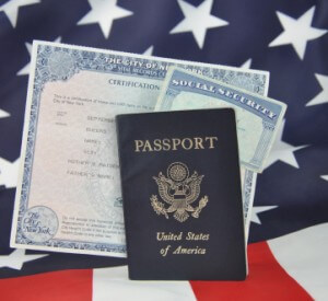 Social Security card and government documentation